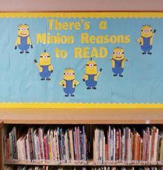 A minion reasons to read
