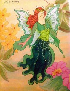Fairy Paper Doll By Eileen Rudisill Miller: Celtic Fairy