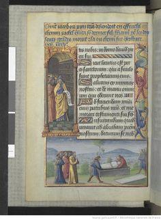 Titre : Horae ad usum romanum. Date d'édition : 1401-1500 Source : Bibliothèque nationale de France, Département des manuscrits, Latin 920, 90 v