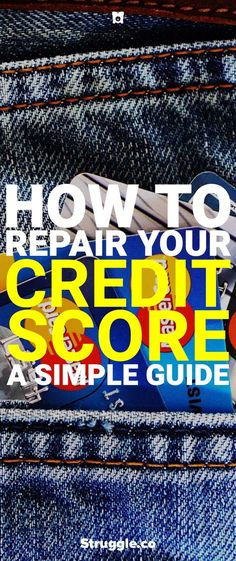 Looking for how to repair your credit score? Here is a nice guide on repairing your credit score fast so you have more options when it comes to purchasing things. Check Your Credit Score, Fix Your Credit, Good Credit Score, Improve Your Credit Score, Build Credit, Credit Agencies, Paying Off Credit Cards, Credit Bureaus, Credit Report