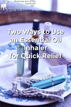 An essential oil inhaler is a comforting relief during cold and flu season. Here are two ways to use an essential oil inhaler safely whether you are DIYing one for a child or an adult. Essential Oil Inhaler, Essential Oils For Colds, Kids Cough, Cough Relief, Flu Season, Diffuser Blends, Natural Healing, Spelling, Natural Remedies