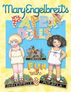 mary inglebreit | Mary Engelbreit's Paper Dolls: Fun With Ann Estelle And Mikayla
