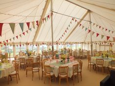 A traditional marquee with multicolored bunting looks amazing Carnival Themes, Party Themes, Party Ideas, Circus Birthday, Birthday Parties, Disneyland Birthday, Wedding Stuff, Dream Wedding, Marquee Hire