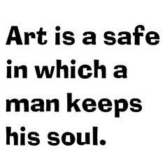 Art is a safe