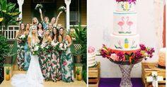 Ideas para tu boda tropical, ¡muy exótica!