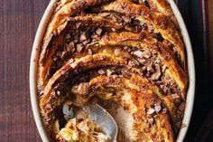 Chocolate and orange bread and butter pudding  https://www.facebook.com/photo.php?fbid=494305717320411=a.267108043373514.65579.112632188821101=1