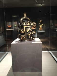 Vessel representing a mythological animal, Moche people, North Coast of Peru, 200-400 CE, Metropolitan Museum of Art