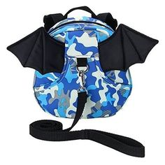 Hipiwe Baby Toddler Walking Safety Backpack with Leash Little Kid Boys Girls Anti-lost Travel Bag Harness Reins Cute Mini Bat Backpacks for Baby Years Old (Camouflage Blue) Baby Safety, Child Safety, Baby Harness, Toddler Backpack, Cute Baby Pictures, Cute Toddlers, Blue Bags, Kids Boys, Baby Car Seats