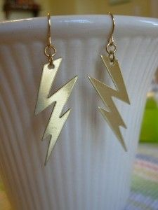 Lightning Bolt Earrings !