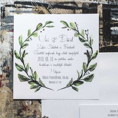 Invitations, Graphics, Wedding, Watercolor, Valentines Day Weddings, Graphic Design, Save The Date Invitations, Printmaking, Weddings