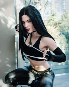 #marvelmonday presents Cosplay Onlys @the.rebecca.rose as #x23 ! Photo by @markscosplayphotography ! #cosplay #cosplayer #cosplaying #cosplaygirl #x23 #xmen #xforce #mutantandproud #marvelcomics #marvelcosplay #followher #followthem #luck13 #cosplayonlyfamily