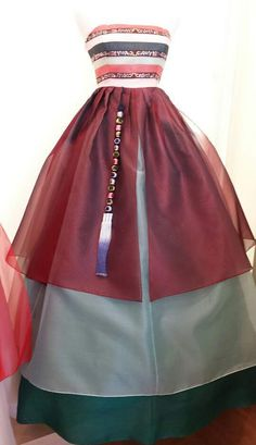would give anything to get married in a hanbok fusion dress <3