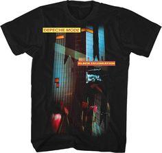 Official Depeche Mode - Celebration - Men s Black T-Shirt IMPORT