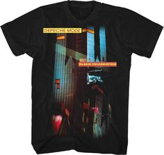 Official Depeche Mode - Celebration - Men s Black T-Shirt IMPORT