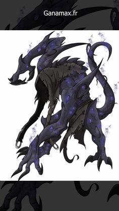 Shadow Creatures, Dark Creatures, Humanoid Creatures, Fantasy Creatures, Mythical Creatures, Monster Art, Monster Concept Art, Fantasy Monster, Monster Design