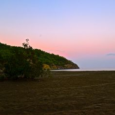 Beach at sunset on the Lycian way