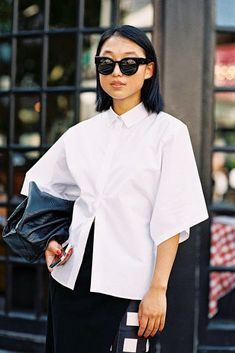 Margaret Zhang | Street Chic (on trend casual) | http://dropdeadgorgeousdaily.com/2013/10/your-style-quiz/