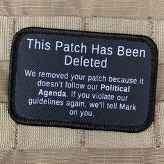 The Morally Flexible Morale Patch by Violent Little. Our morals are so flexible they could teach a yoga class. Funny Patches, Tactical Patches, Cool Patches, Pin And Patches, Sew On Patches, Iron On Patches, Tactical Gear, Black Cherry Flavor, Save Ferris