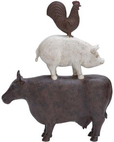 "Bayden Hill Ps Animal Decoration 11""W, 14""H"