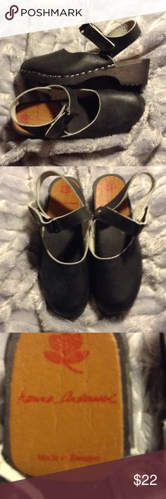 Hanna Andersson kids shoes black clogs Gently worn Hanna Andersson Shoes