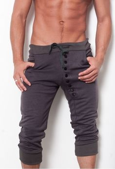 Button Down Pants === perfect for around the house or working out.
