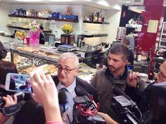 Borghezio arriva a Tor Sapienza insieme a CasaPound. Di Stefano: «E' facile faretitoli roboanti sull'accoglienza degli immigrati e non essere poi ingrado di proporre soluzioni»