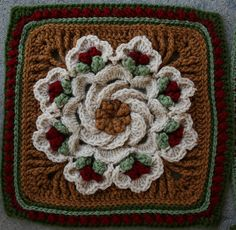 "Ravelry: kindredcottage's 2012 VCFC ""Christ-moose SWAP"" Afghan"