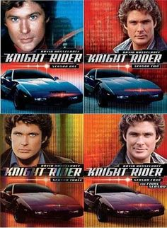 Knight Rider - Season 1 / 2 / 3 / 4  (4 Pack)  New DVD | eBay