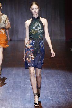 Gucci spring/summer 2015 mfw runway