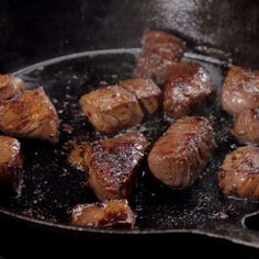 Honey Balsamic Steak Bites - Recipe & Video | TipHero