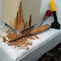 How To Repair A Rotting Wood Porch Post Home Repairs Pinterest Porch P