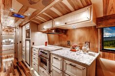 Custom Airstream 1956 Whale Tail by Timeless Travelers, specialists in Airstream renovation