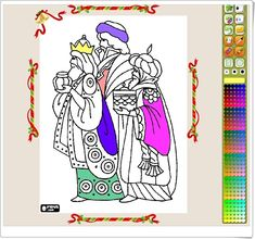 """""""Los Reyes Magos para colorear"""" Cultural, Reyes, Art, Interactive Activities, Teaching Resources, Wizards, Colouring In, Learning, Xmas"""