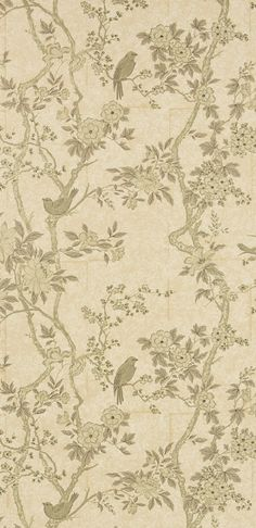 Designers Guild Marlowe wallpaper Designers Guild Wallpaper, Furniture Assembly, Fabric Wallpaper, Online Furniture, Luxury Homes, Home Accessories, Vintage World Maps, Floral, Painting
