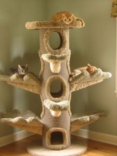 Cat Tree: Cat Furniture art-i-love
