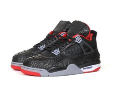 NIKE AIR JORDAN IV PYTHON BRED JBF CUSTOMS #sneaker