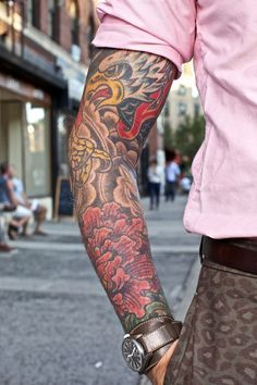 Nick Wooster's arm