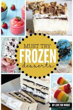 Must try Frozen dess