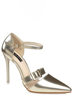 PU OL Style Buckles Straps Shoes _Wholesale High Heels_WHOLESALE SHOES_Wholesale clothing, Wholesale Clothes Online From China High Heel Pumps, Pumps Heels, Stiletto Heels, Shoes Wholesale, Wholesale Clothing, China, Sandals, Lady, Clothes