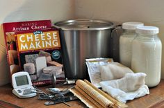 Cheese making basics are important to review since cheese making is lost art which is experiencing a revival.