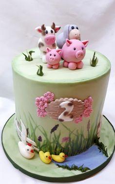 Zvieratká pre dievčatko torta, Autorka: katarina73, Tortyodmamy.sk