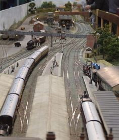 The Leamington & Warwick Model Railway Exhibition - Page 2 - Exhibitions - RMweb N Scale Model Trains, Model Train Layouts, Scale Models, Rail Transport, Standard Gauge, Real Model, Ho Trains, Train Set, Train Tracks