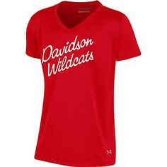 Product: Youth Girl's Red V Neck Tee