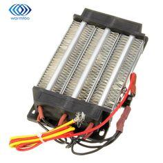 Elektrikli Isıtıcılar 750 W Yalıtımlı PTC Seramik Isıtıcı Hava Isıtma Elemanı AC DC 220 V 140*76mm Aparatı sıcaklık Yüksek Kalite