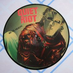 Vintage Quiet Riot Metal Health Picture Disc by LuvStephenKing, $35.00
