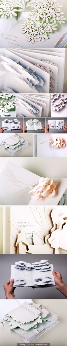 Calendar – Pop-up Poem Book by Éva Somogyi... - a grouped images picture - Pin Them All