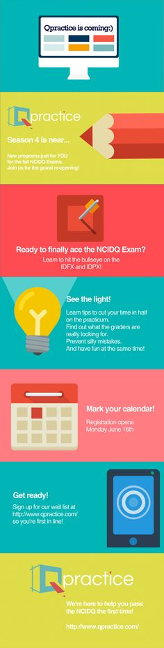 Get ready to pass the #NCIDQ Exam! There's a brand new website and more fun coming your way soon…