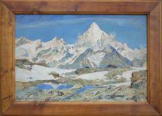 Weisshorn (Zermatt) by Albert Kunze '29