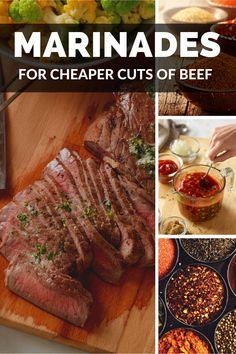 Sauce Recipes, Meat Recipes, Cooking Recipes, Grilled Steak Recipes, Grilling Recipes, Samosas, Beef Dishes, Food Dishes, Hanger Steak