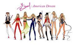Britney Spears 'American Dream' Collection by Yigit Ozcakmak